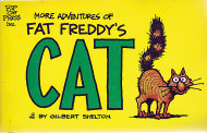 More Adventures of Fat Freddy's Cat Book