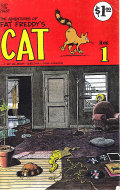 The Adventures Of Fat Freddy's Cat Book 1 Comic Book