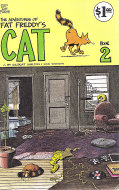 The Adventures Of Fat Freddy's Cat Book 2 Comic Book
