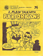 A Plain Talk With Puertoricans Comic Book