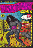 Authentic Visionary Comix Comic Book