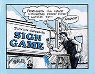 Justin Green's Sign Game Comic Book