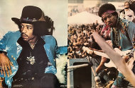 Jimi Hendrix #676 Poster