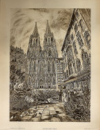 Kolm Dom (Cologne Cathedral) Poster