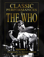 Classic Performances of The Who Book