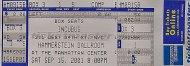 Incubus Vintage Ticket