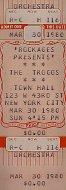 The Troggs Vintage Ticket