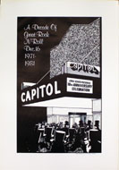 Capitol Theatre 10th Anniversary Party Poster