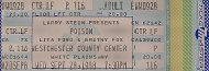 Poison Vintage Ticket
