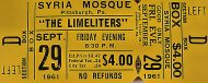 The Limelighters Vintage Ticket