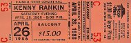 Kenny Rankin Vintage Ticket
