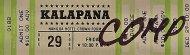 Kalapana Vintage Ticket