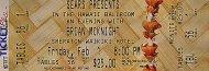 Brian McKnight Vintage Ticket