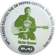 Richie Havens Pin