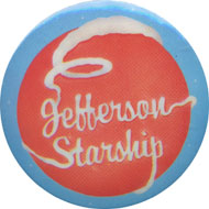 Jefferson Starship Pin