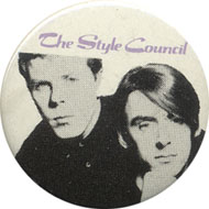 The Style Council Pin