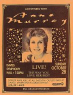 Anne Murray Handbill