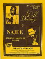 Will Downing Handbill