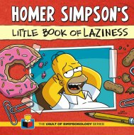Homer Simpson's Little Book of Laziness Book