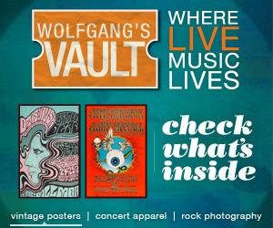 Wolfgang's Vault - memorabilia