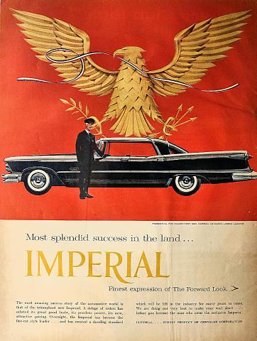 Imperial Le Baron Hardtop Vintage Ad