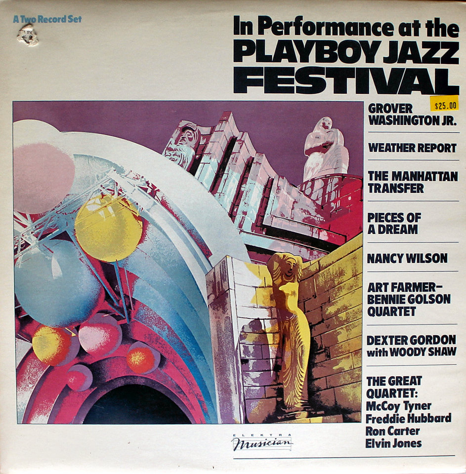 """In Performance At The Playboy Jazz Festival Vinyl 12"""" (Used)"""