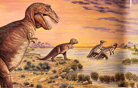 In the Days of the Dinosaurs Poster