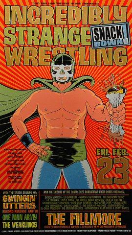 Incredibly Strange Wrestling Poster