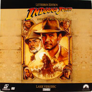 Indiana Jones and the Last Crusade Laserdisc