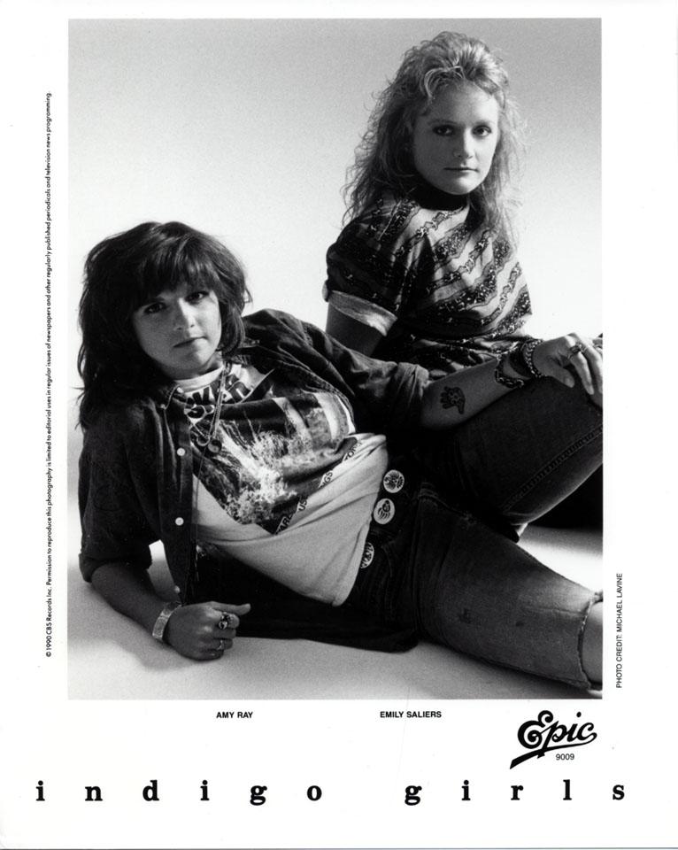 Indigo Girls Promo Print