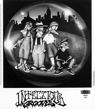 Infectious Grooves Promo Print