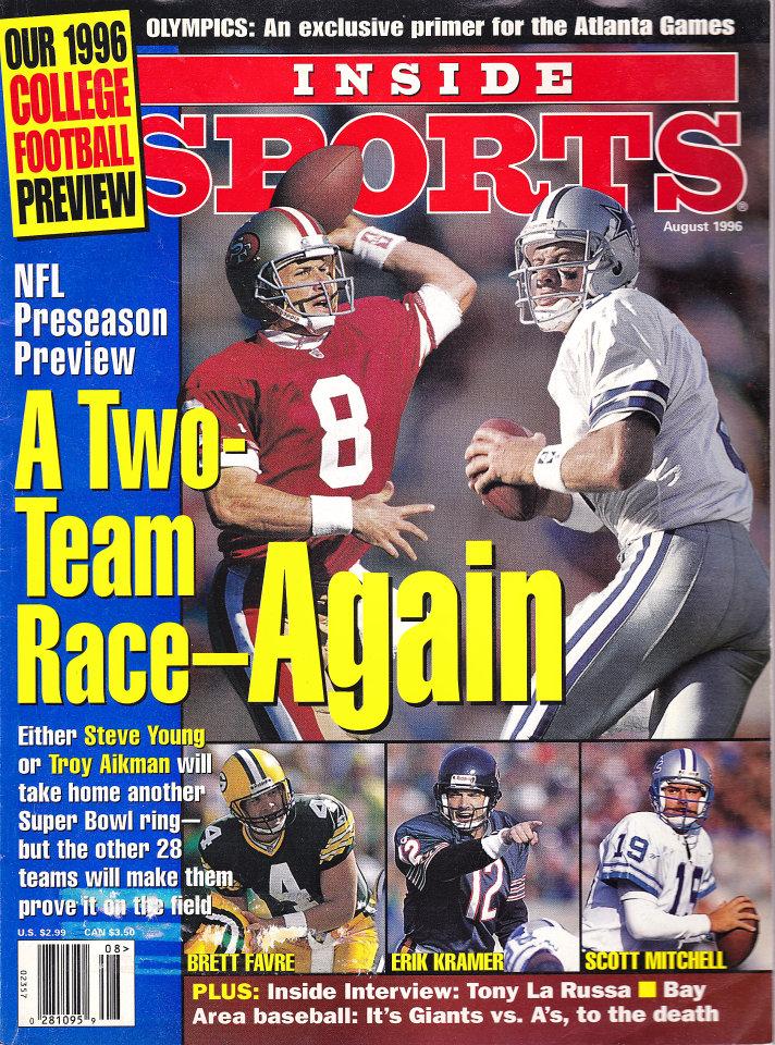 Inside Sports Aug 1,1996