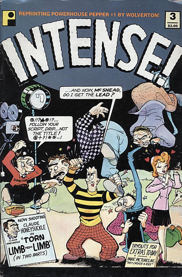 Intense! #3 Comic Book