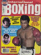International Boxing Magazine April 1977 Magazine