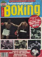 International Boxing Magazine August 1977 Magazine