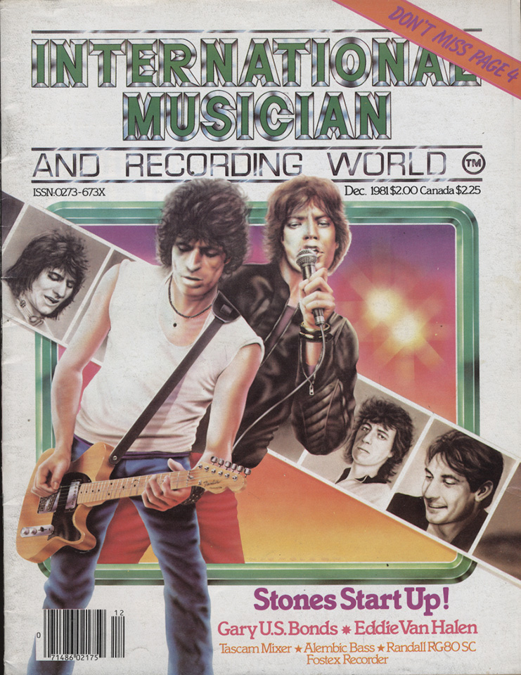 International Musician & Recording World Vol. 3 No. 12