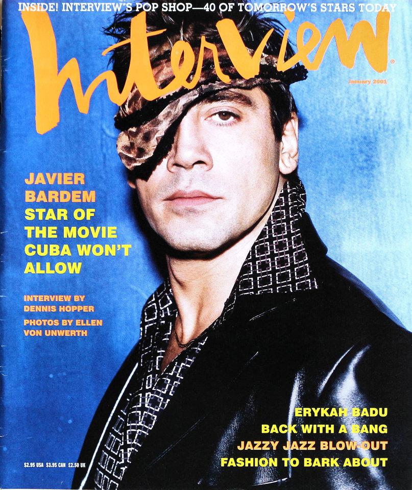 Interview Magazine January 2001