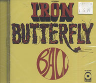 Iron Butterfly CD