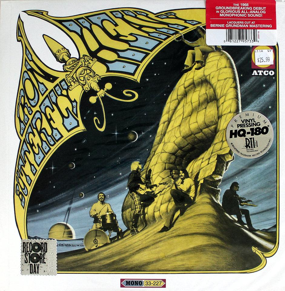 "Iron Butterfly Vinyl 12"" (New)"