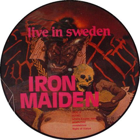 """Iron Maiden Vinyl 12"""" (New)"""