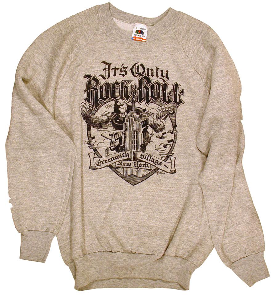 5944489f35f It s Only Rock  n  Roll Men s Vintage Sweatshirts