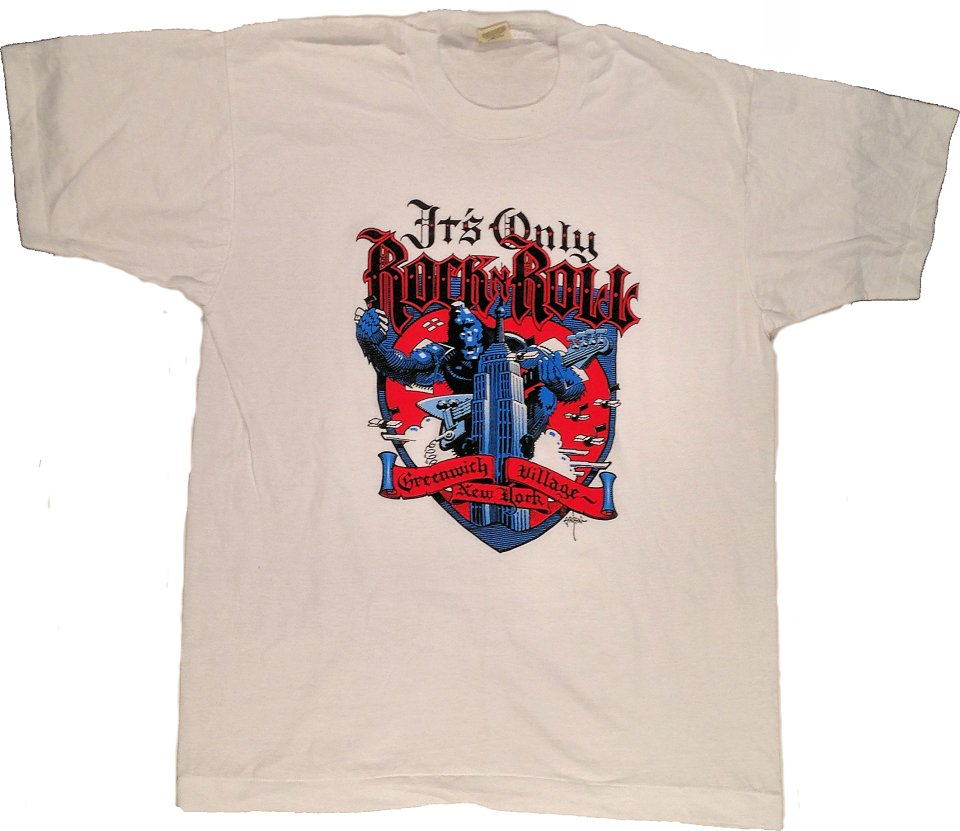 It's Only Rock N Roll Men's Vintage T-Shirt