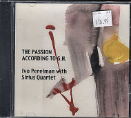 Ivo Perelman with Sirius Quartet CD