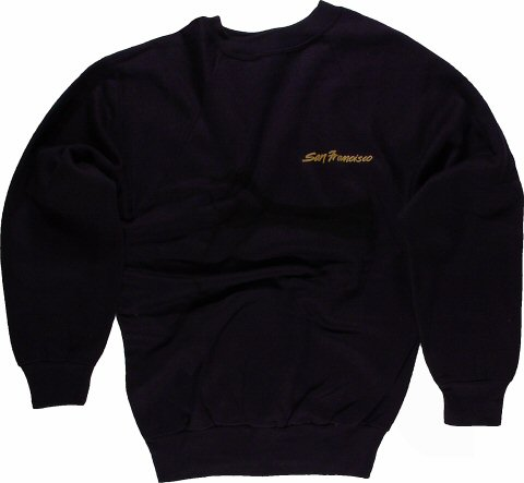 J. Geils Band Men's Vintage Sweatshirts reverse side