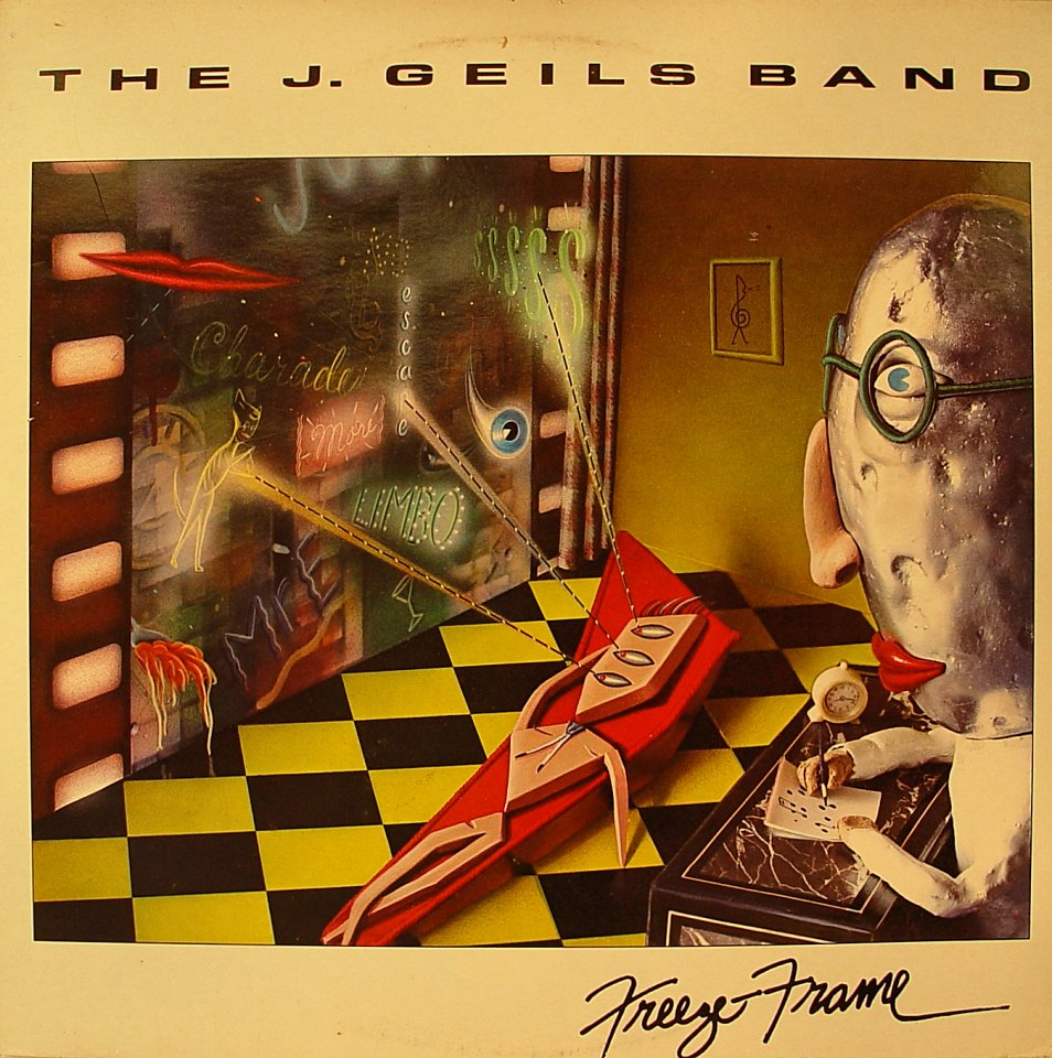 "J. Geils Band Vinyl 12"" (Used)"