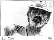 J.J. Cale Promo Print