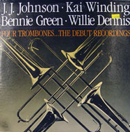 "J.J. Johnson / Kai Winding / Bennie Green / Willie Dennis Vinyl 12"" (Used)"