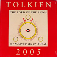 J.R.R Tolkien Calendar