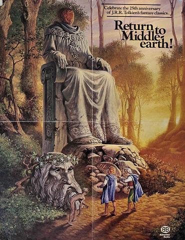 J.R.R. Tolkien Poster
