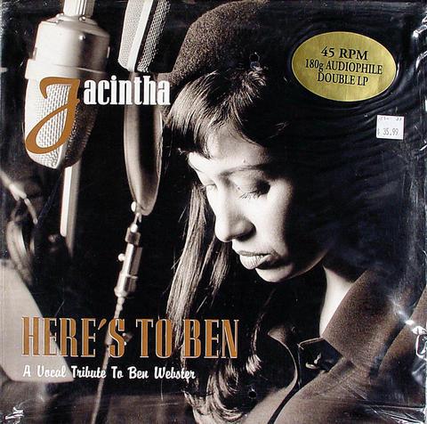 """Jacintha Vinyl 12"""" (New)"""